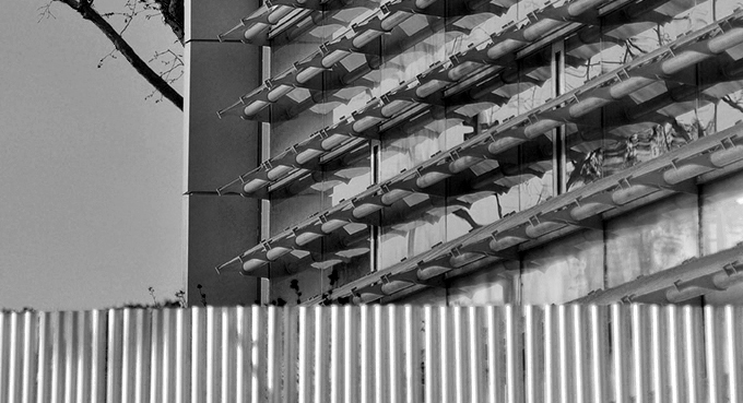 edificio, registradores, propiedad, madrid, nueva, sede, rfa, therus, alcala, 540, arquitectura, azul, lamas, nucleo, r, nucleo r, registradores madrid, pergola metalica, pergola, estructura metalica, muro, cortina, muro cortina, vidrio, parasol, cristal, rojo, patio central